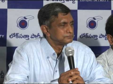 Dr JP greets Telangana people on State formation