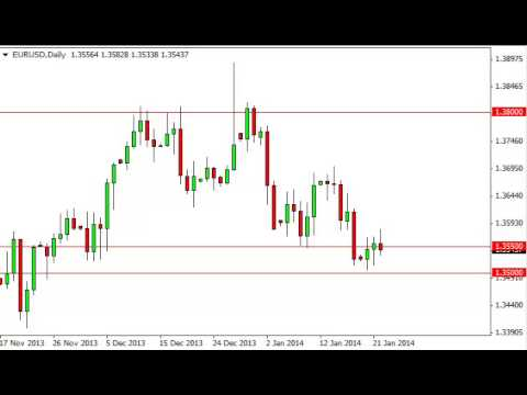 EUR/USD Technical Analysis for January 23, 2014 by FXEmpire.com