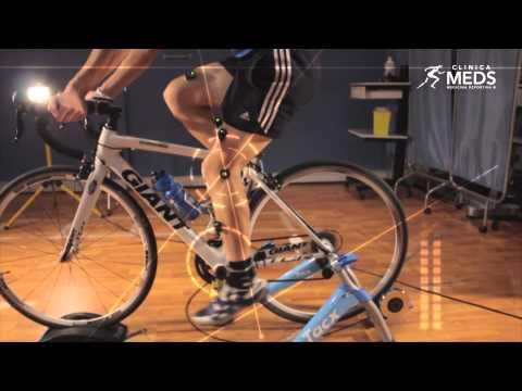 Programa de análisis biomecánico de ciclistas en MEDS