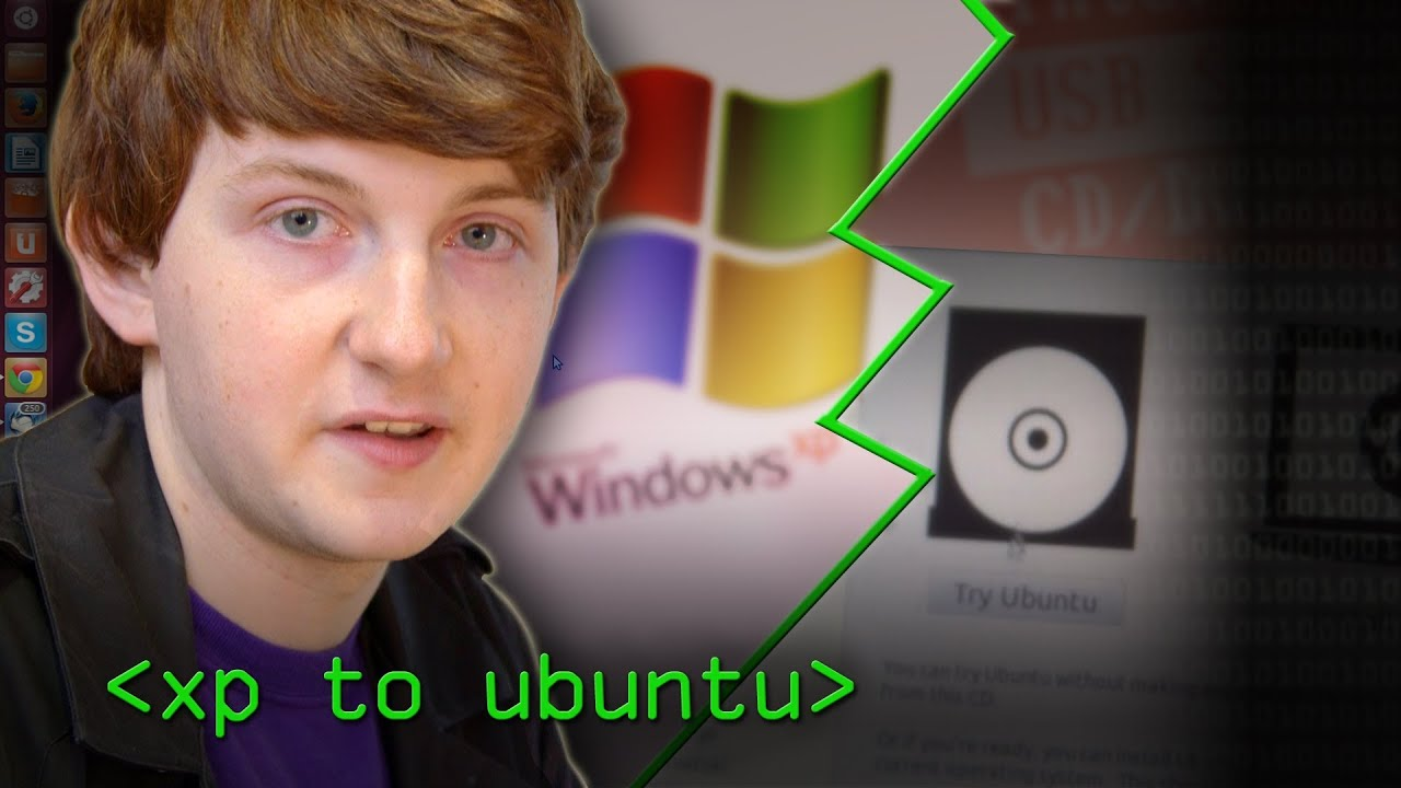 Migrate an old Hacktop from Windows XP to Ubuntu