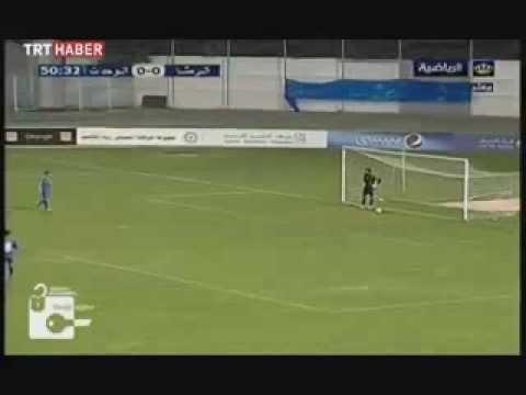 Topuğuyla Aşırtma Gol Atan Ürdünlü Futbolcu