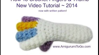 How To Crochet Fingers