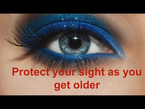 Protecting your eyes as you get older   Dr Paul Clayton