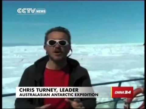 Antarctic rescue underway:Chinese helicopter airlifts stranded ship passengers