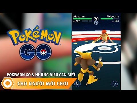 Pokemon Go và Tất cả những điều cần biết cho người mới chơi