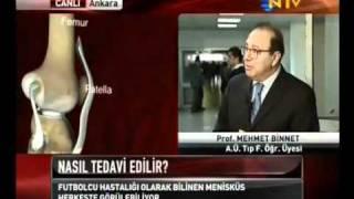 Menisküs ve tedavileri - Prof. Dr. Mehmet Binnet