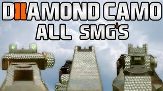 Black Ops 2 DIAMOND CAMO SMGs Diamond SMG Camos Black