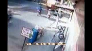 Casal � baleado em Porteirinha
