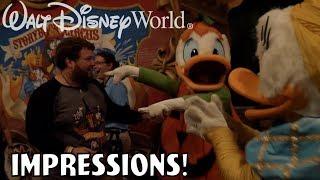 I'VE NEVER SEEN DONALD HAPPIER!! - Disney World Impressions Halloween