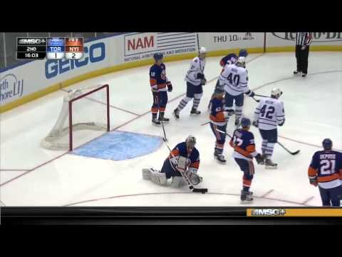 Toronto Maple Leafs vs New York Islanders 27.02.2014