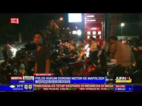 Polisi Bubarkan Balapan Liar di Bintaro