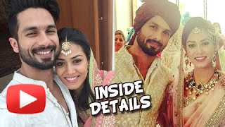 Shahid Kapoor And Mira Rajput Wedding Inside Details