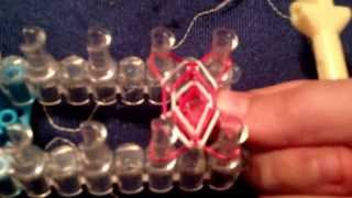 Tutorial On How To Make A Hexa Fish Loom Bracelet!