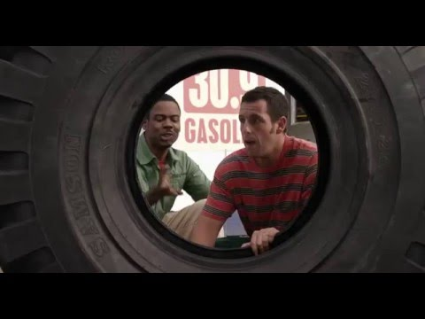 Grown ups 2 - Funny seen (Higgins inside the tyre)