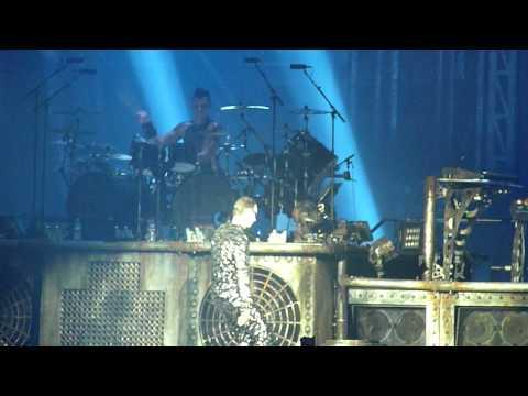 """Rammstein -""""Haifisch """" Budapest 2011-11-10 HD"""