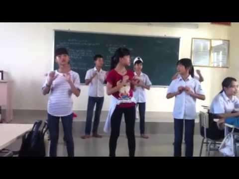 Dạy nhảy vũ điệu cồng chiêng ( Phiên bản học sinh )