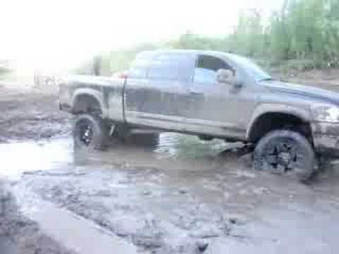 Took Big Trucks In Soupy Mud- Doesnt Work Out So Well