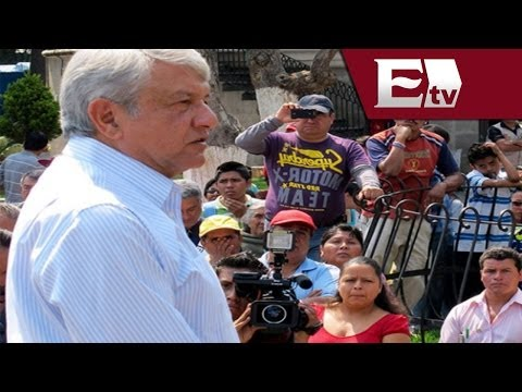 López Obrador asegura que muerte de Colosio fue un crimen de Estado / Vianey Esquinca
