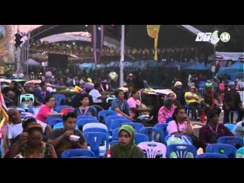 VTC14_Người biểu tình cắm trại ở thủ đô Thái Lan