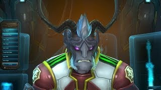 Wildstar: Dominion - Male Draken Character Creation Customization Options (Wildstar BETA Gameplay)