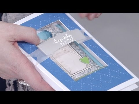 Cardmaking and Memory Pockets | docrafts Creativity TV