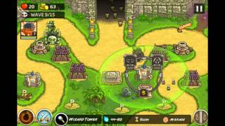 kingdom rush frontiers stage 3,4