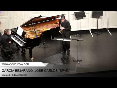 Dinant 2014 – Garcia Bejarano, Jose Carlos – Sonate by Edison Denisov