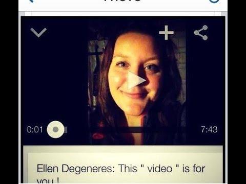 Ellen Degeneres: This