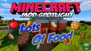 Minecraft Mods: Lots Of Food [Forge][1.7.2]