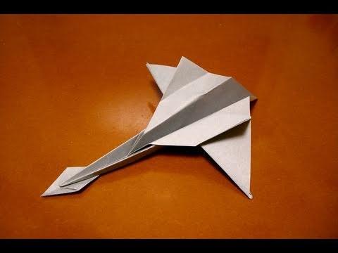 Jak złożyć prosty myśliwiec z papieru