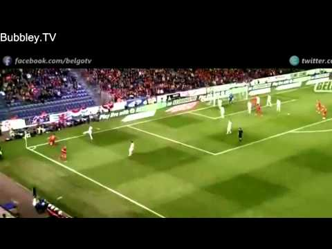Adnan Januzaj Individual Highlights   International Debut   Belgium vs Luxembourg 5 1   HD   1