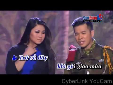 ĐÓN XUÂN NÀY TÔI NHỚ XUÂN XƯA ( Karaoke) Song ca với Miền Tuyết Trắng