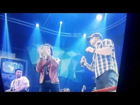 Banda Malta e Sam Alves no Altas Horas