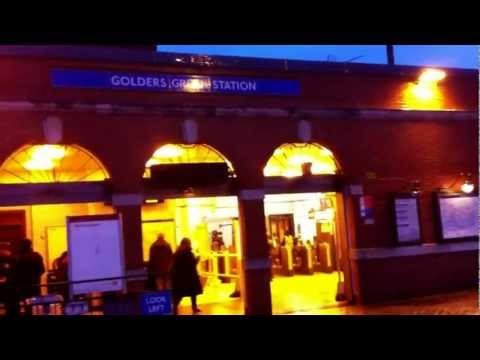 Golders Green Tube Station - London HD