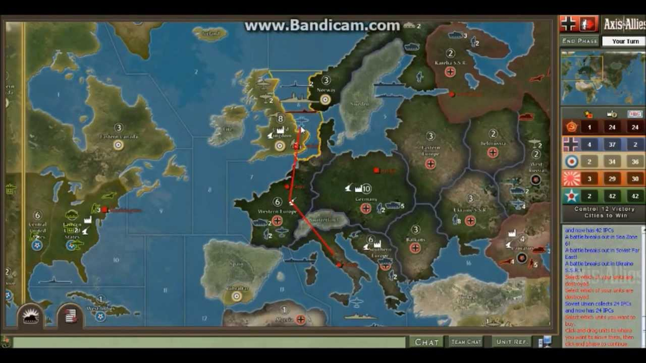 Axis & Allies Download (2004 Strategy Game)