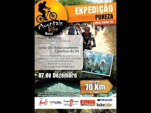 Expedição Pureza 70km - Mountain Bike Natal