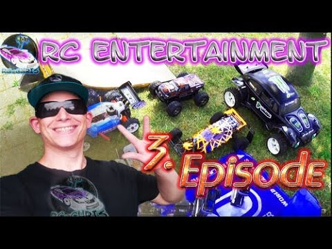 FG Marder, HPI Savages, Kyosho, Desert Buggy [RC Entertainment Episode 3.]