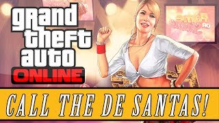 "GTA 5: Online Secret ""De Santa Phone Numbers"" Easter Egg"