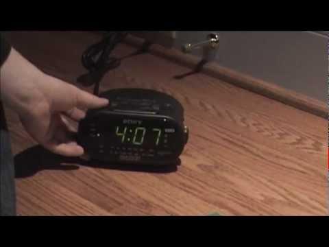 sony dream machine clock radio icf c318 manual
