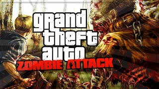 GTA 5 Online - Zombie Apocalypse Mission ! [GTA 5 Funny Moments] (iCrazyTeddy Custom Games)