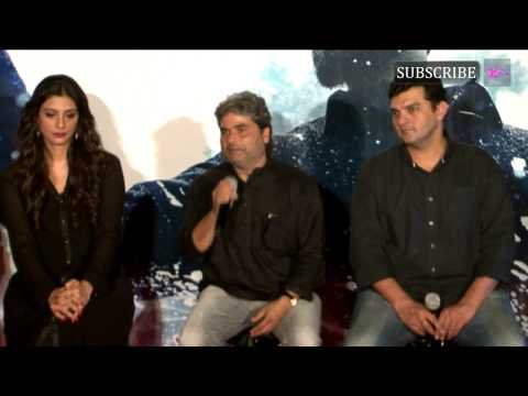 Shahid Kapoor And Shraddha Kapoor At Trailer Launch Of Movie Haider Part 3