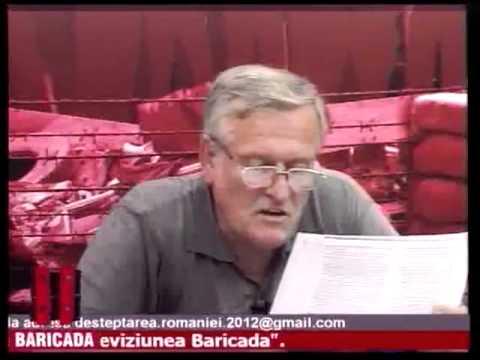 3/8 Lorin  Fortuna - Desteptarea Romaniei - La Baricada TV Arad 04.08.2011