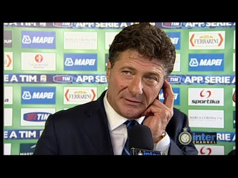 INTERVISTA WALTER MAZZARRI POST SASSUOLO-INTER