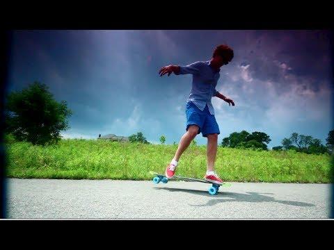 Longboarding: Sharkgang Skies