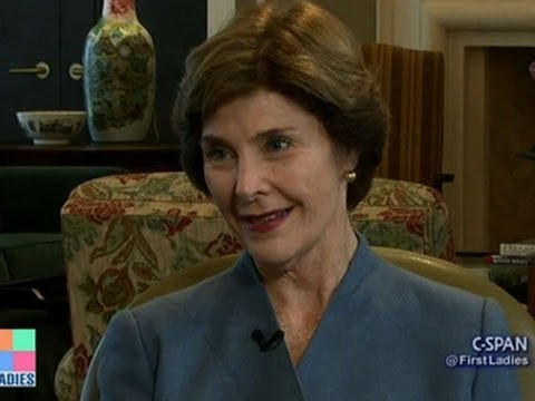 First ladies and their changing roles: Laura Bush speaks out