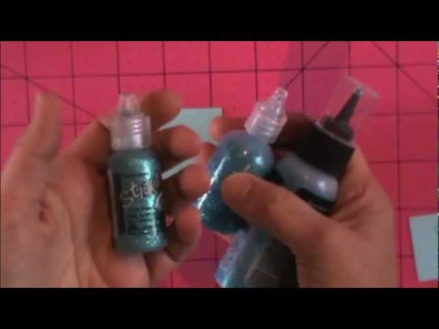 Glitter Tricks to save Money - Stickles & Best Glue Ever Throwdown