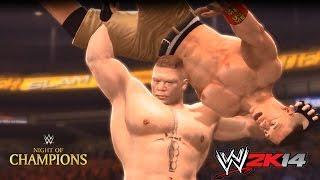 John Cena Vs. Brock Lesnar 2K14 Remix