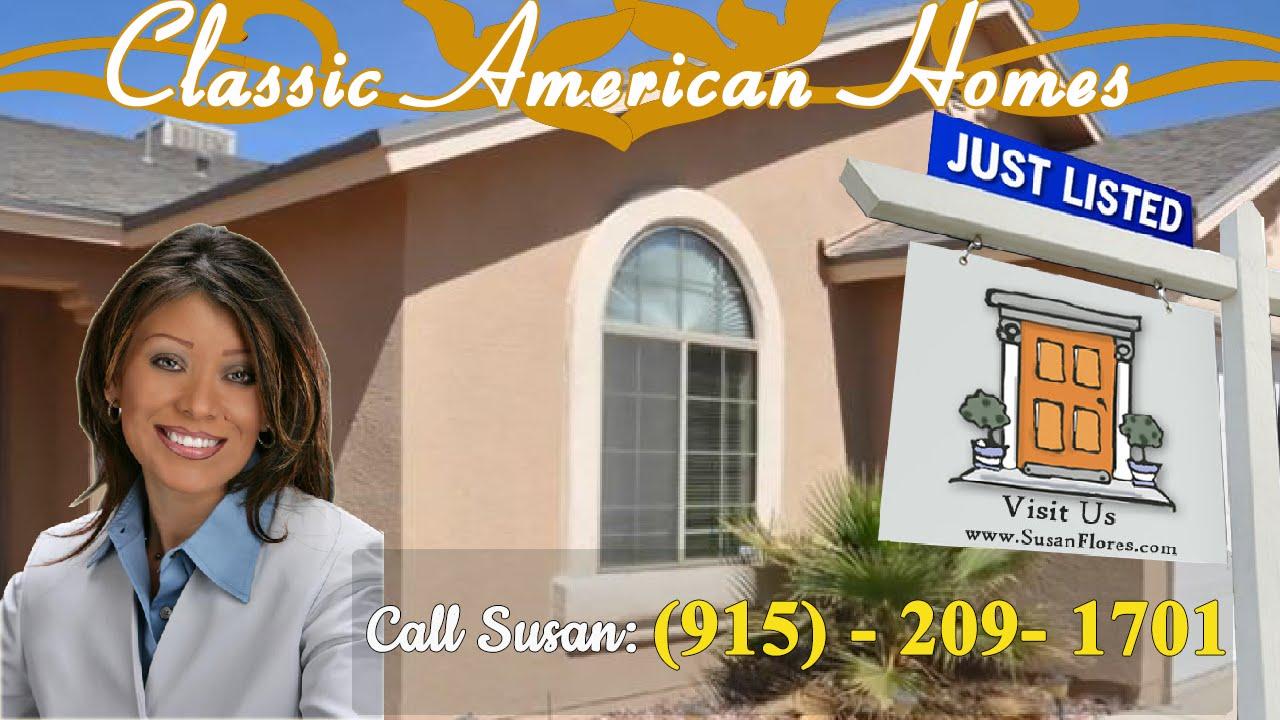 Classic american homes el paso home for sale in for Classic american el paso