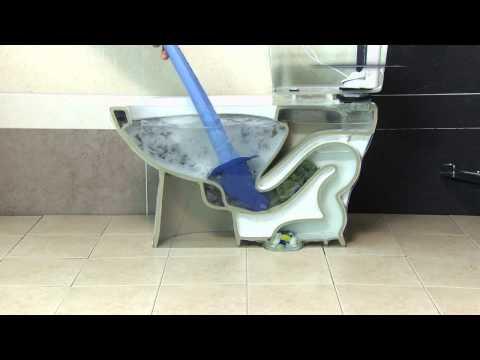 power plunger toilet clogs youtube. Black Bedroom Furniture Sets. Home Design Ideas