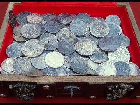 OMG! I Found A Huge Silver Treasure Hoard Metal Detecting!